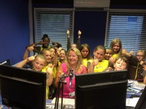 3rd Brighton Brownies & Christine 13.6.15
