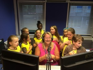 3rd Brighton Brownies & Christine Rowley 13.6.15