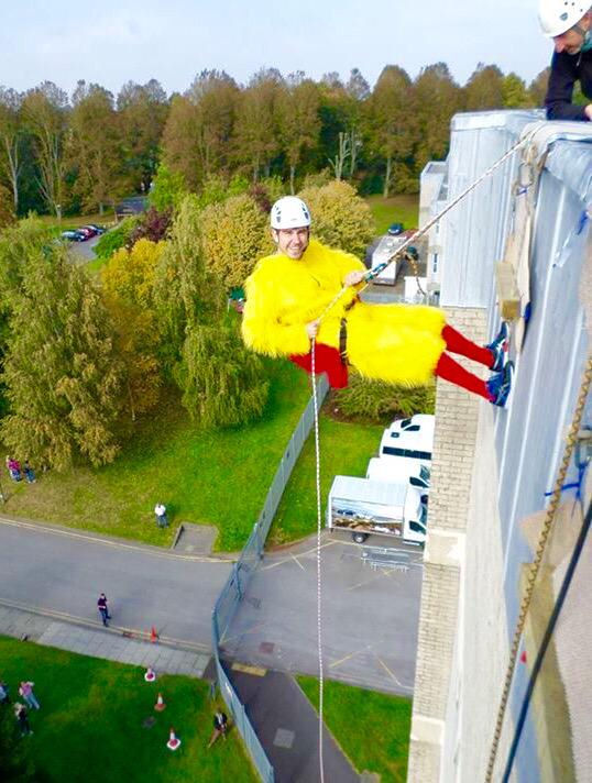 Abseil from top