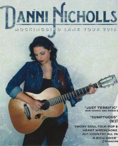 Danni Nicholls Mockingbird Lane tour