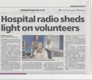 Volunteering Gazette Feature St Michael's Hospice
